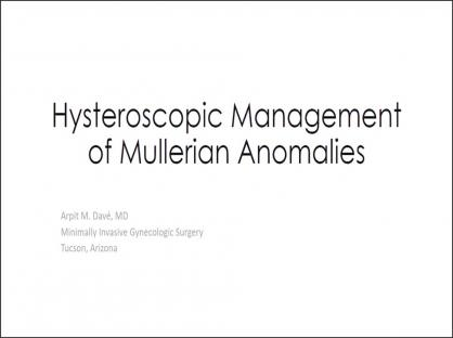 Navigating Difficult Hysteroscopy Due to Mullerian Anomalies
