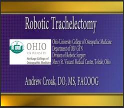 Robotic Trachelectomy