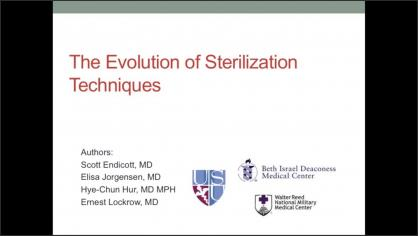 The Evolution of Sterilization Techniques
