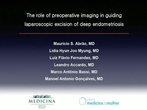 THE ROLE OF PRE OPERATIVE IMAGING IN GUIDING LAPAROSCOPIC EXCISION OF DEEP ENDOMETRIOSIS